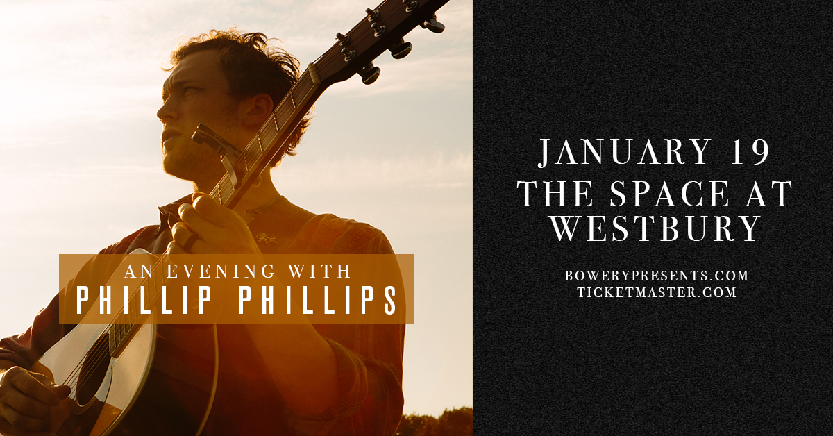 Phillip Phillips at the Space at Westbury Theater