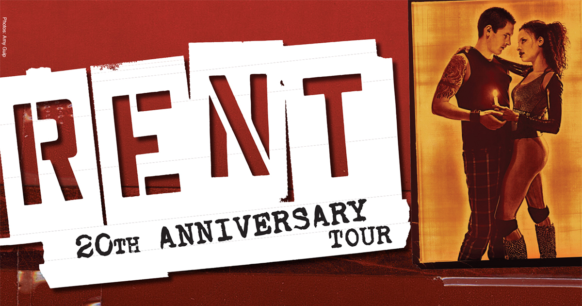Rent 20th Anniversary Tour at Tilles Center