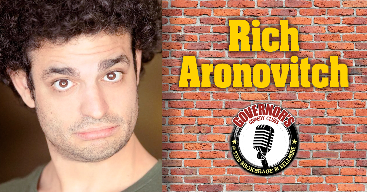 Rich Aronovitch at The Brokerage in Bellmore