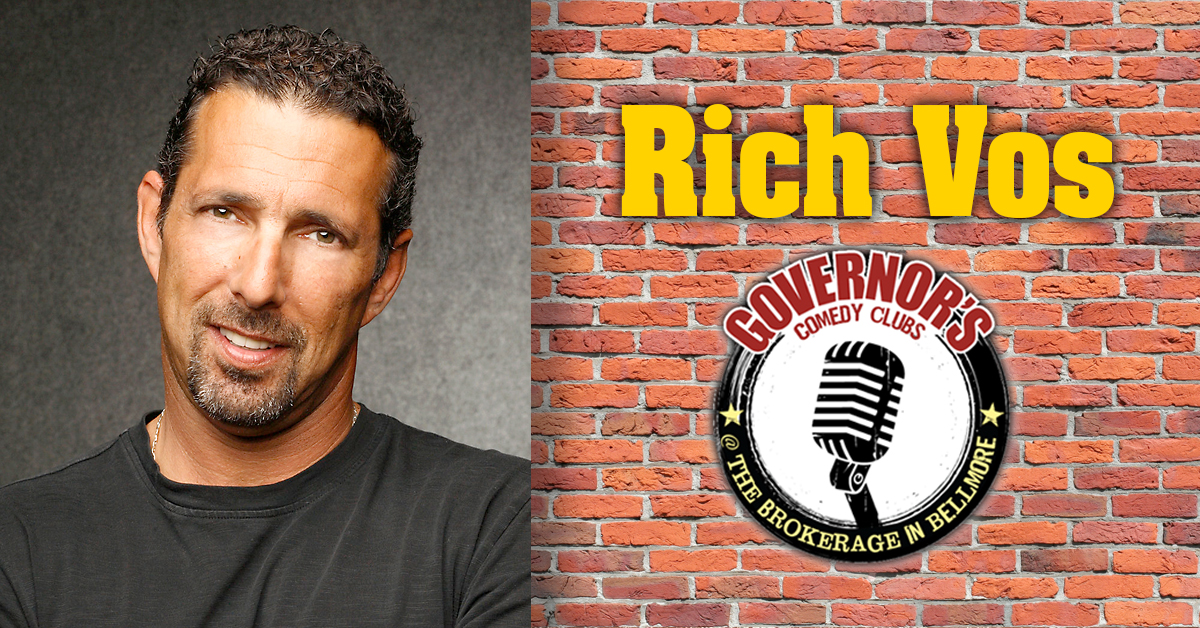 Rich Vos at the Brokerage in Bellmore