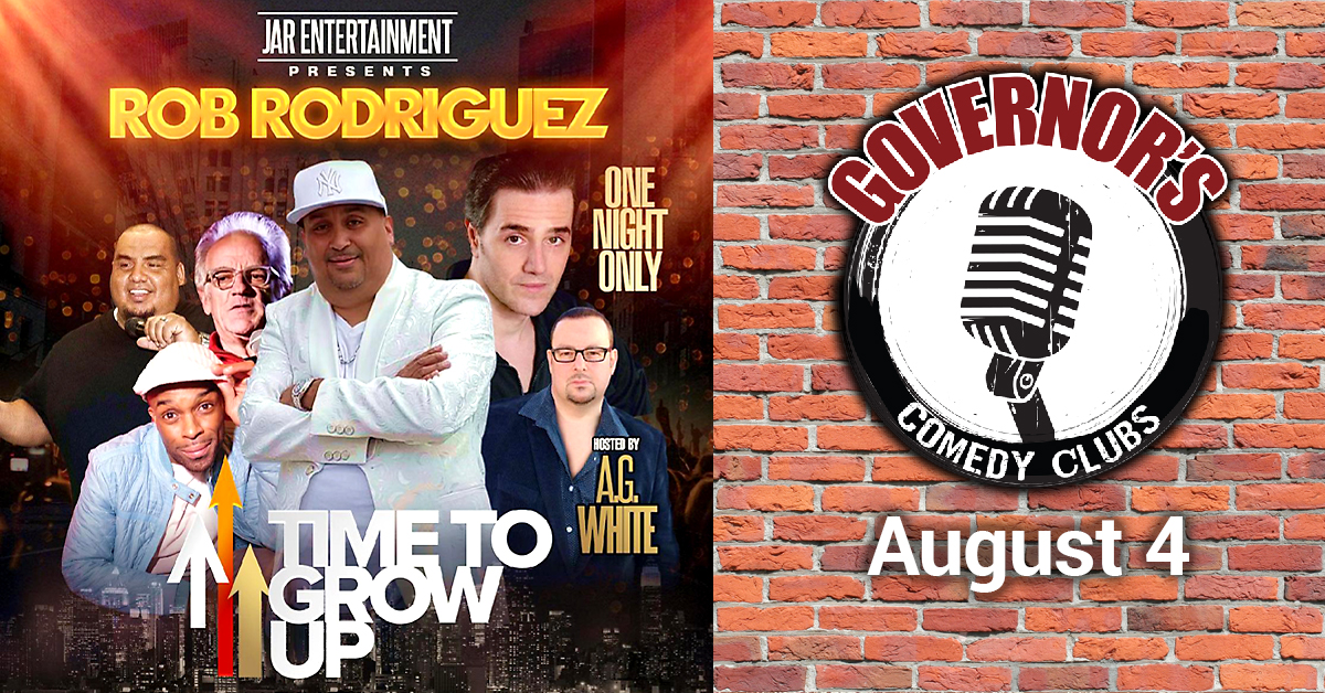 Rob Rodgriguez at Governors Comedy