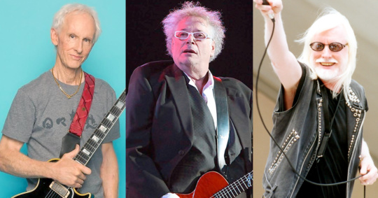 Robby Krieger of The Doors, Leslie West and Edgar Winter at NYCB Theatre at Westbury