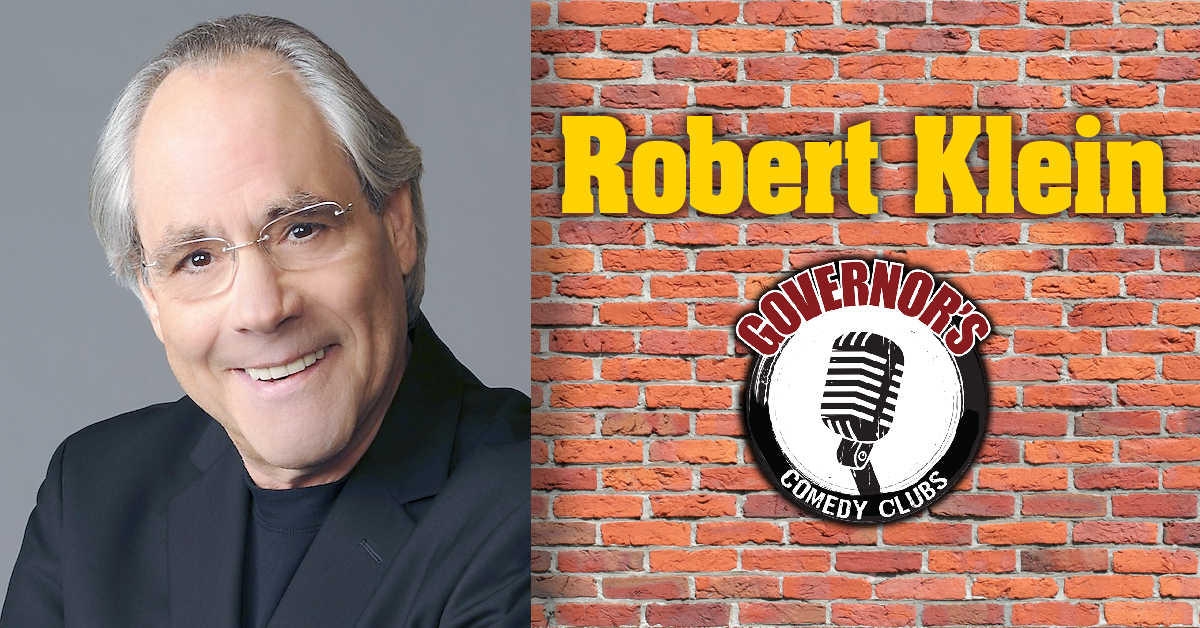 Robert Klein at Governors Comedy Club