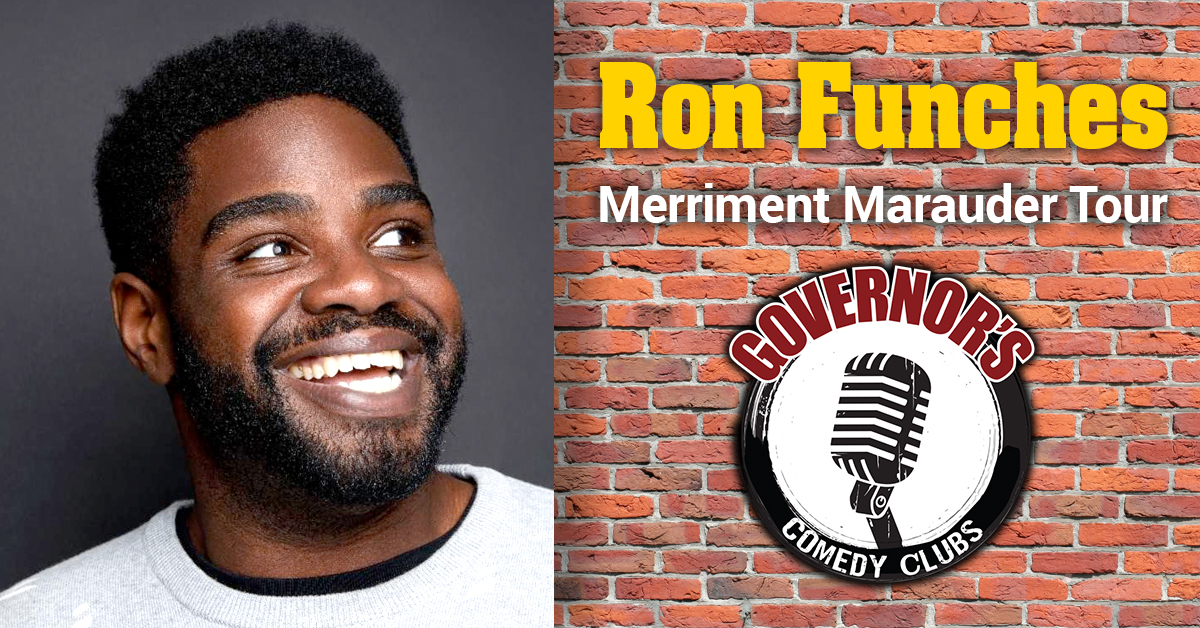 Ron Funches at Governors Comedy