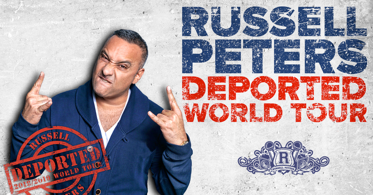 Russell Peters The Deported World Tour at Westbury
