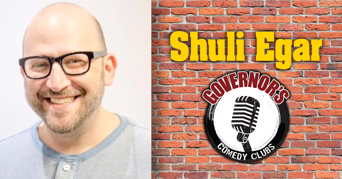 Shuli Egar at Governor's Comedy in Levittown
