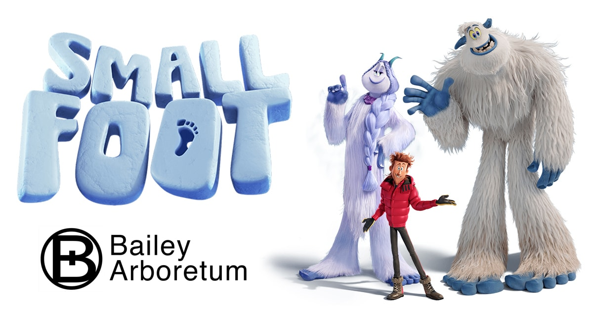 Small Foot at BAILEY ARBORETUM