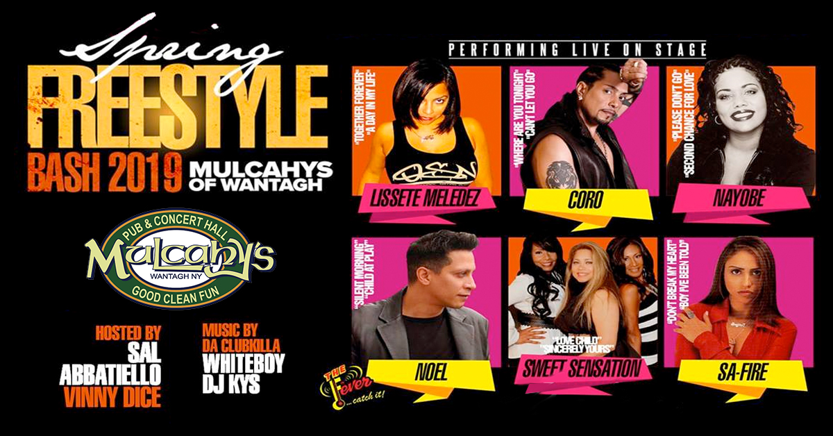 Spring Freestyle at Mulcahy's Pub in Wantagh