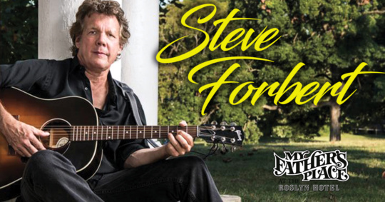 Steve Forbert at My Father's Place at the Rosyln Hotel