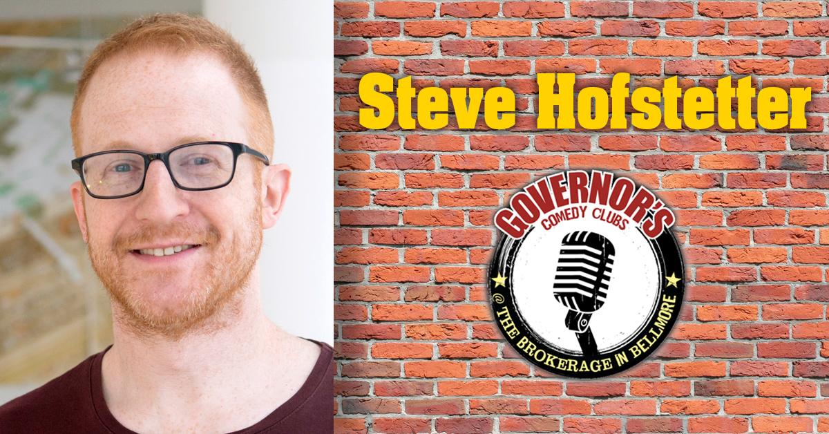 Steve Hofstetter at the Brokerage Comedy Club
