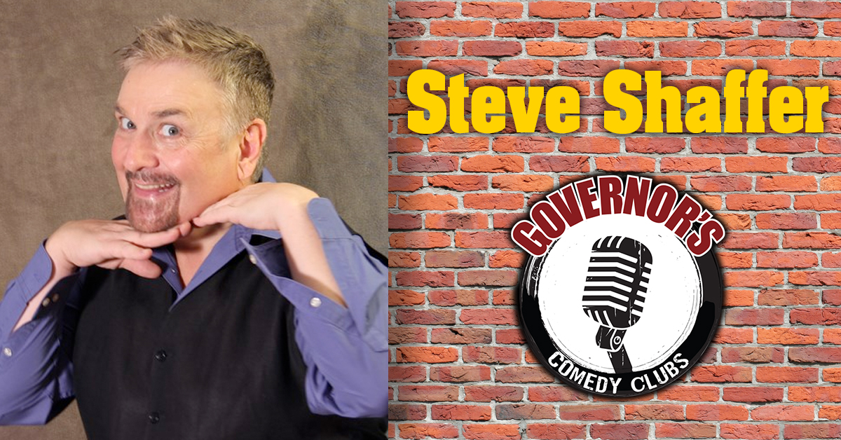 Steve Schaffer at Governor's Comedy Club in Levittown