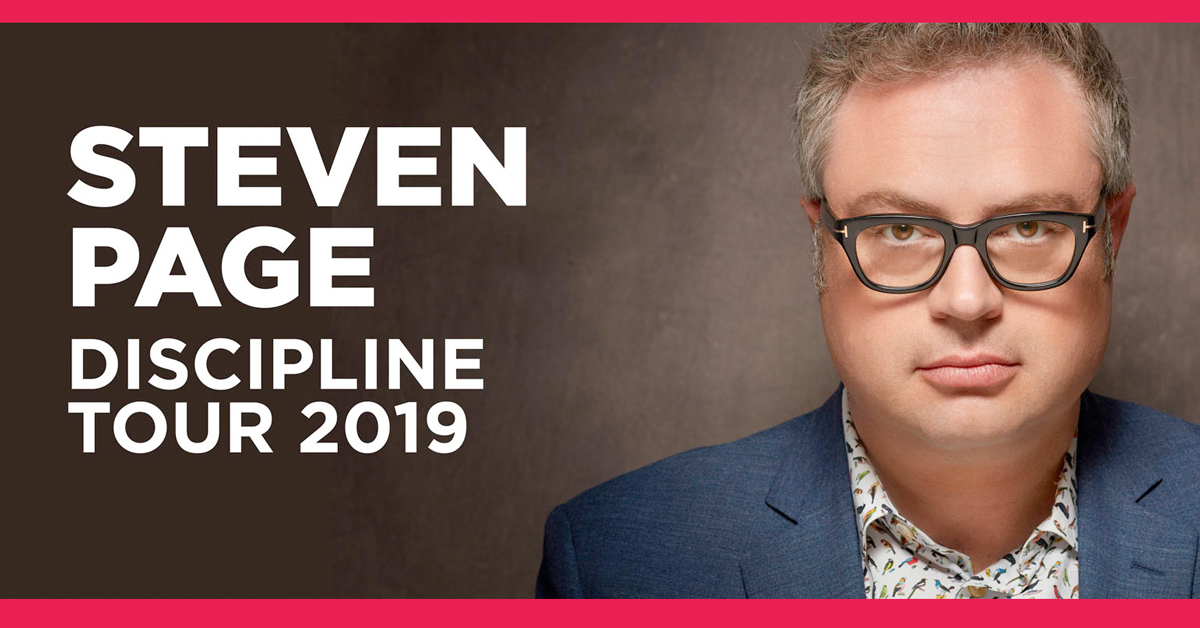 Steven Page at My Fathers Place