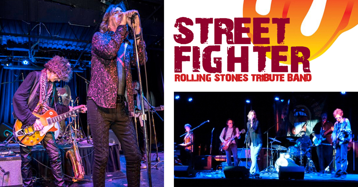 Street Fighter - Rolling Stones Tribute Band