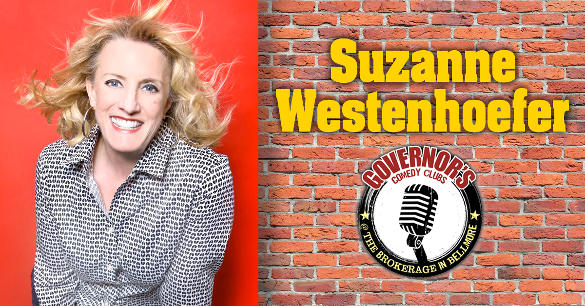 Suzanne Westenhoefer at the Brokerage Comedy Club