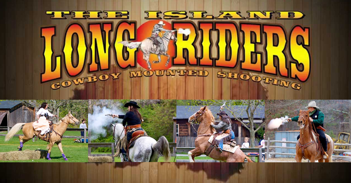 The Island Long Riders Mounted Cowboy Shooting Show