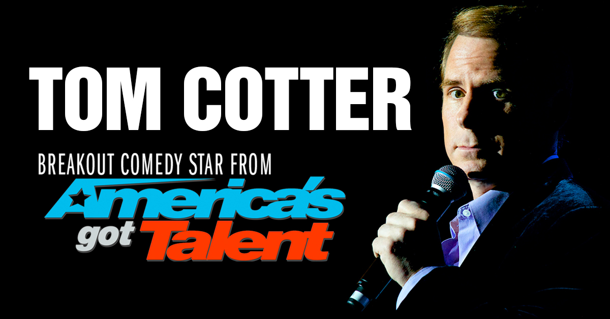 Tom Cotter at the Madison Theatre at Molloy College