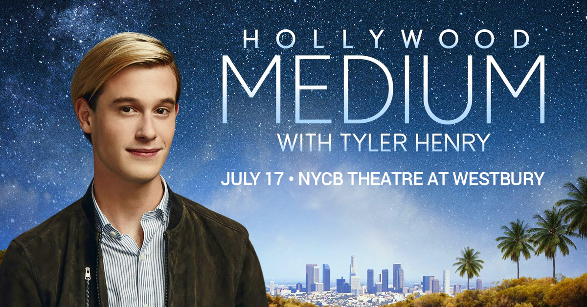 Tyler Henry at the Theatre at Westbury