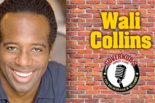 Wali Collins at Brokerage in Bellmore